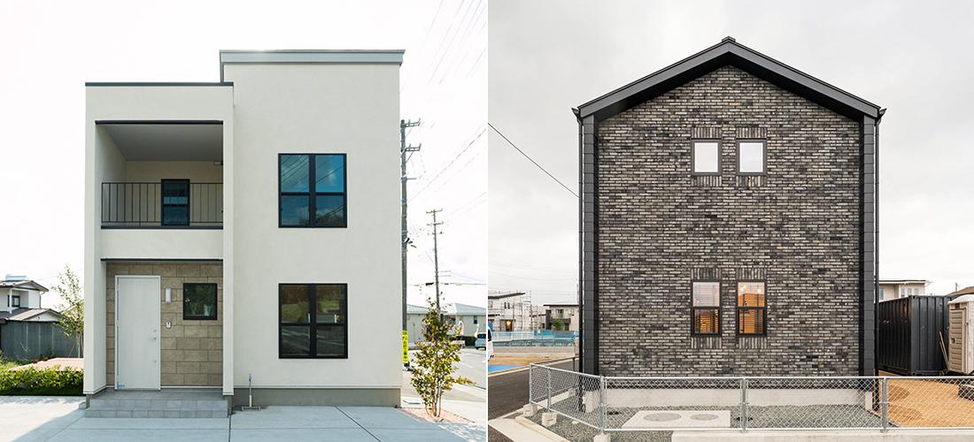 人気の二階建て住宅にSTYLE PACKAGEを組み合わせて。
