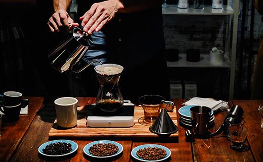 憧れのドリップコーヒー。