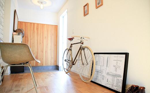 決してアウトドアではないけれど移動手段は自転車。